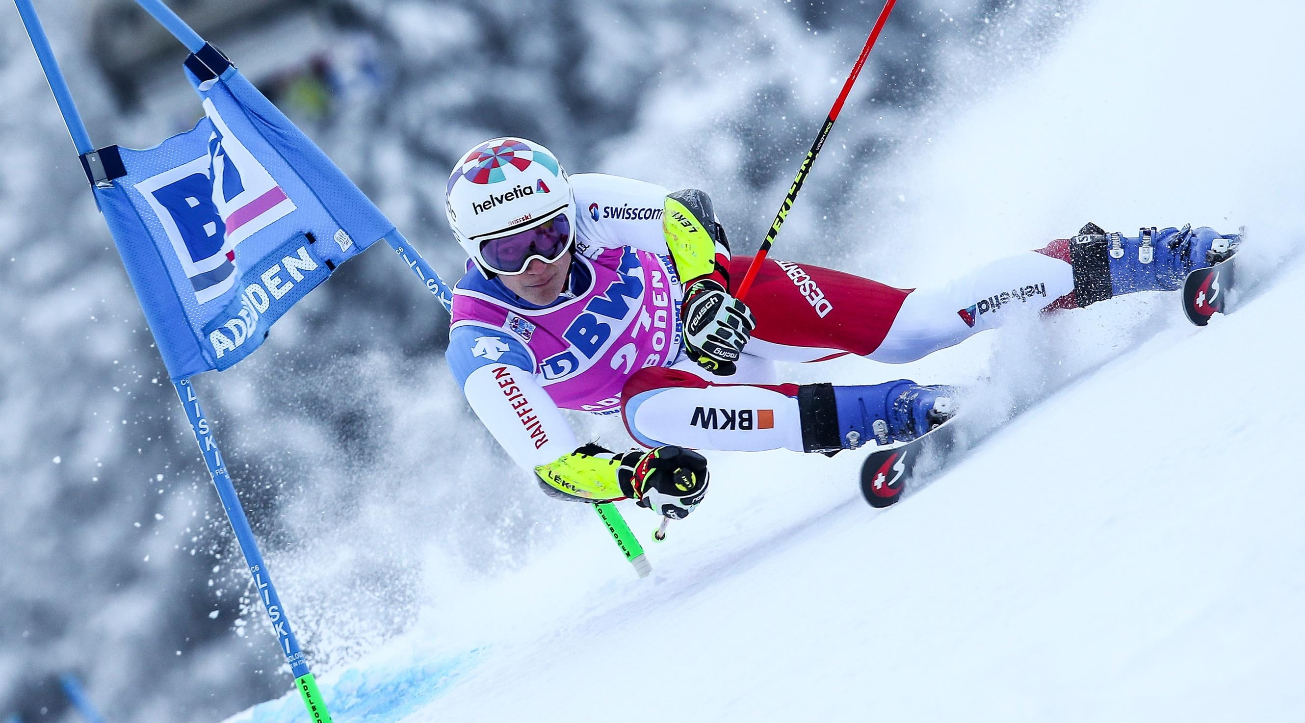 Marco Odermatt emotionally moved on his home turf in Adelboden