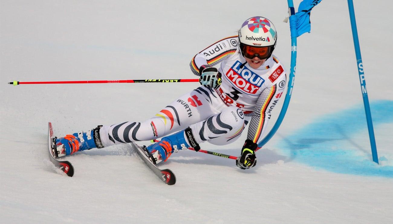 """Viktoria Rebensburg: """"I won silver."""""""