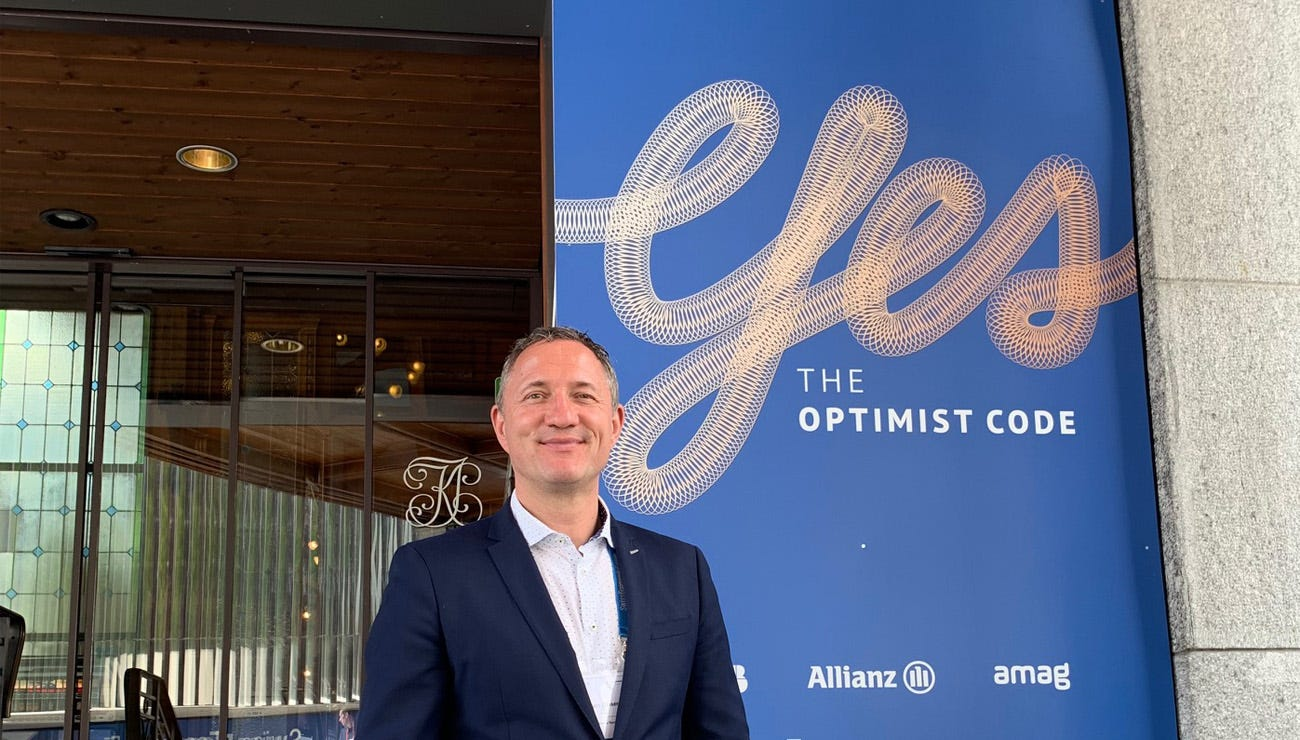 Stöckli CEO Marc Gläser am Swiss Economic Forum