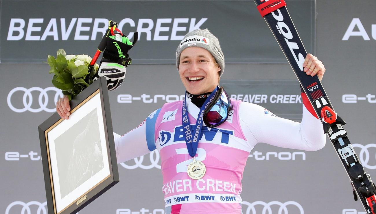 Marco Odermatt holt seinen ersten Weltcupsieg