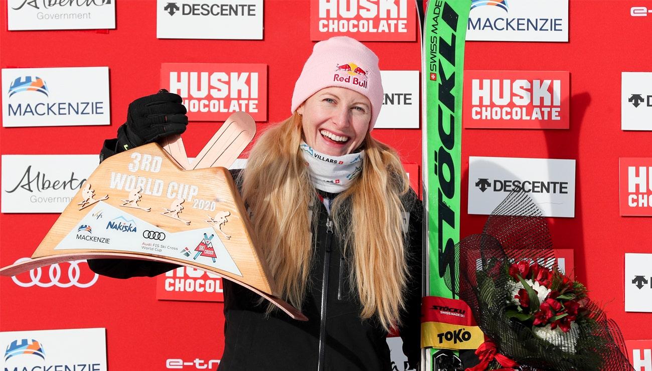 Stöckli dank den Skicrossern zwei Mal auf dem Podest