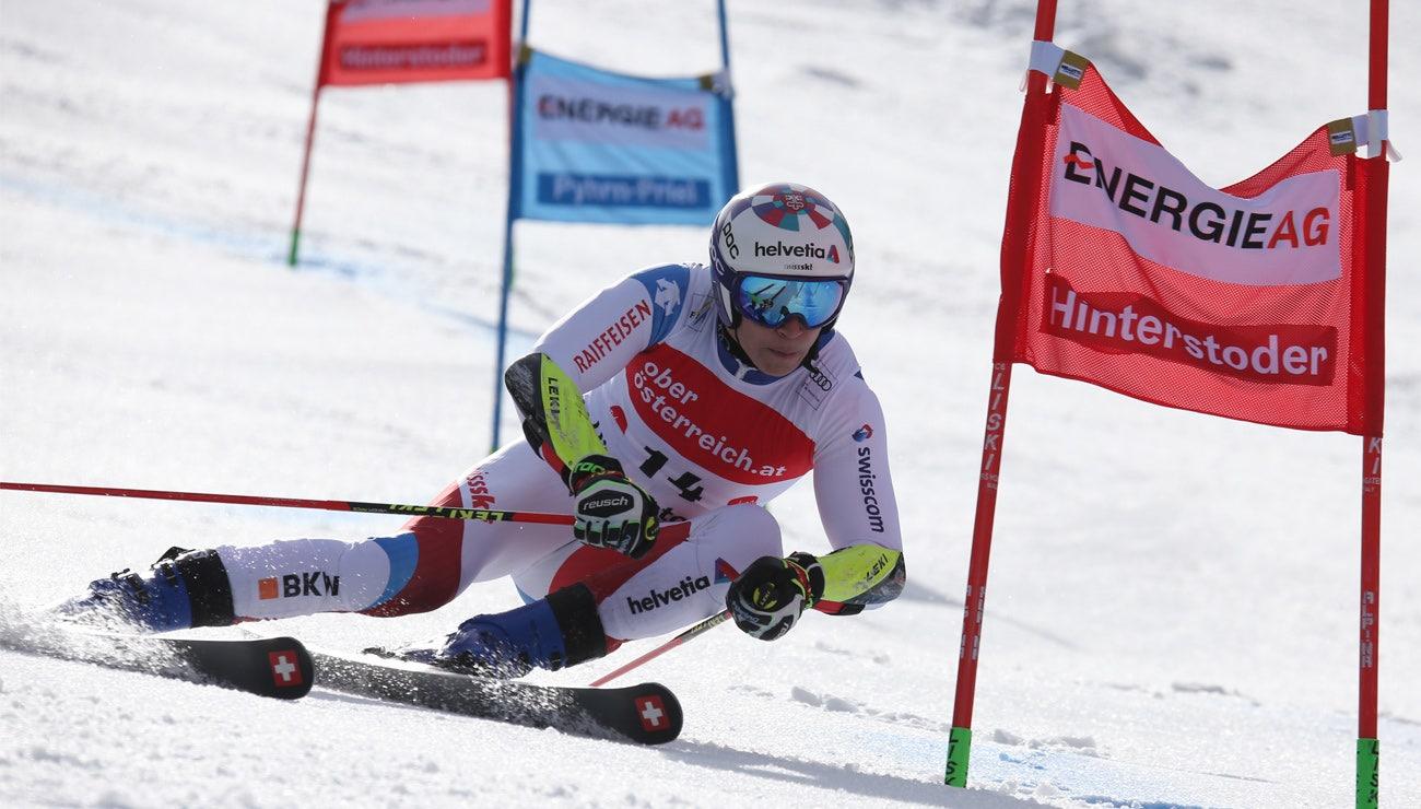 Marco Odermatt mit starkem zweitem Lauf