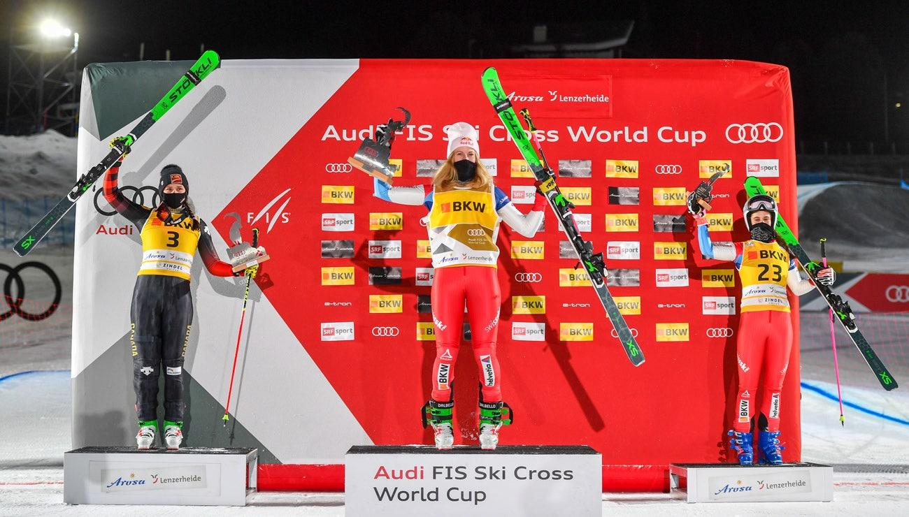 4 Rennen, 6 Podestplätze – Skicrosser mit einem Super-Auftakt
