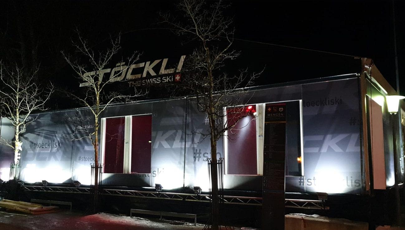 Nouveau Stöckli Showroom à Wengen