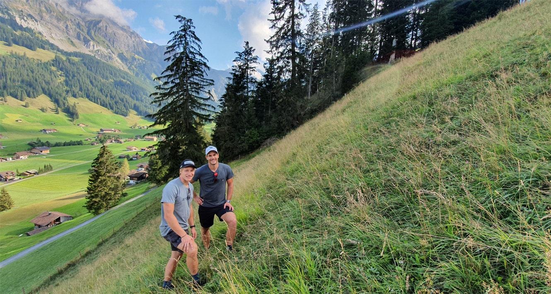 Mit Marco & Thomas das Chuenisbärgli besichtigt
