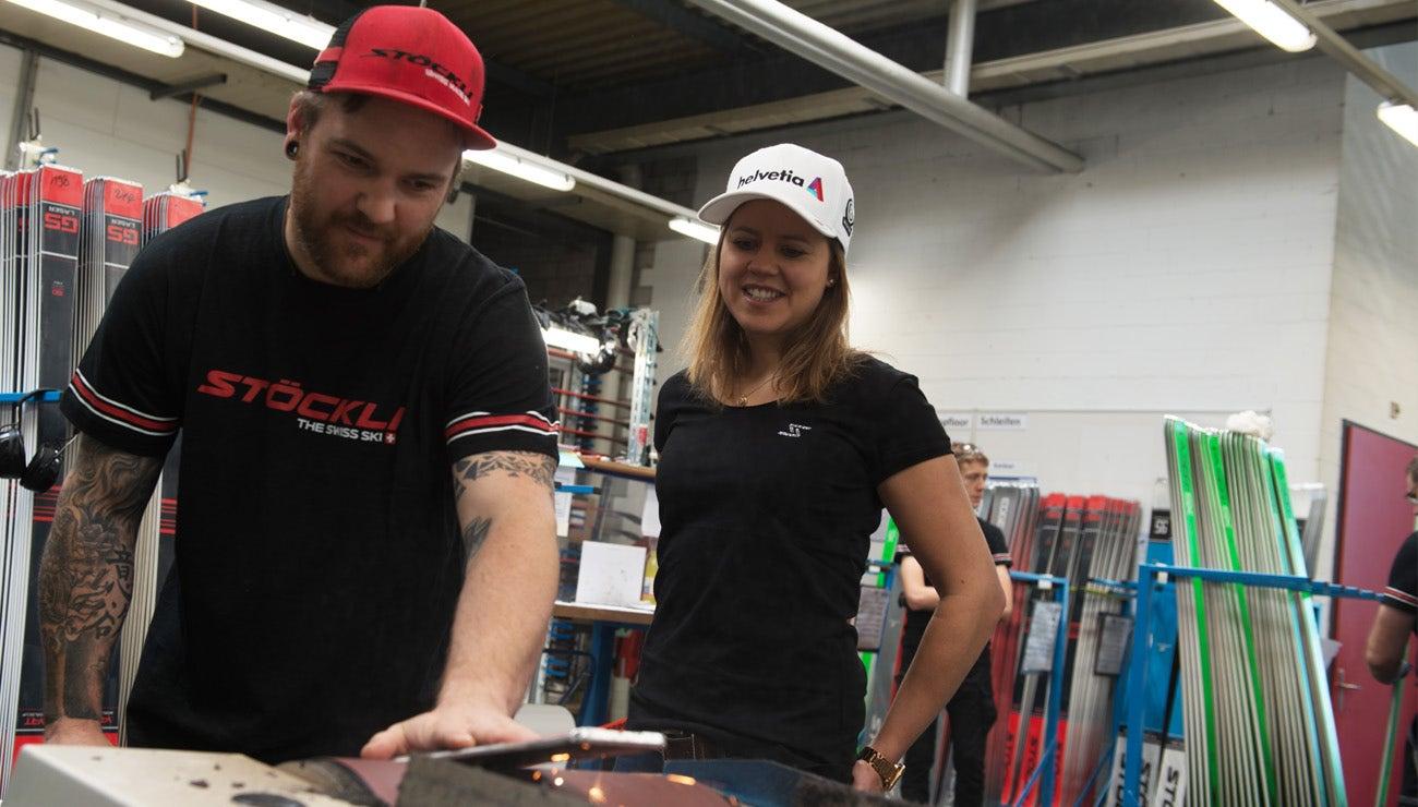 VIKTORIA REBENSBURG IM INTERVIEW MIT STÖCKLI CEO MARC GLÄSER